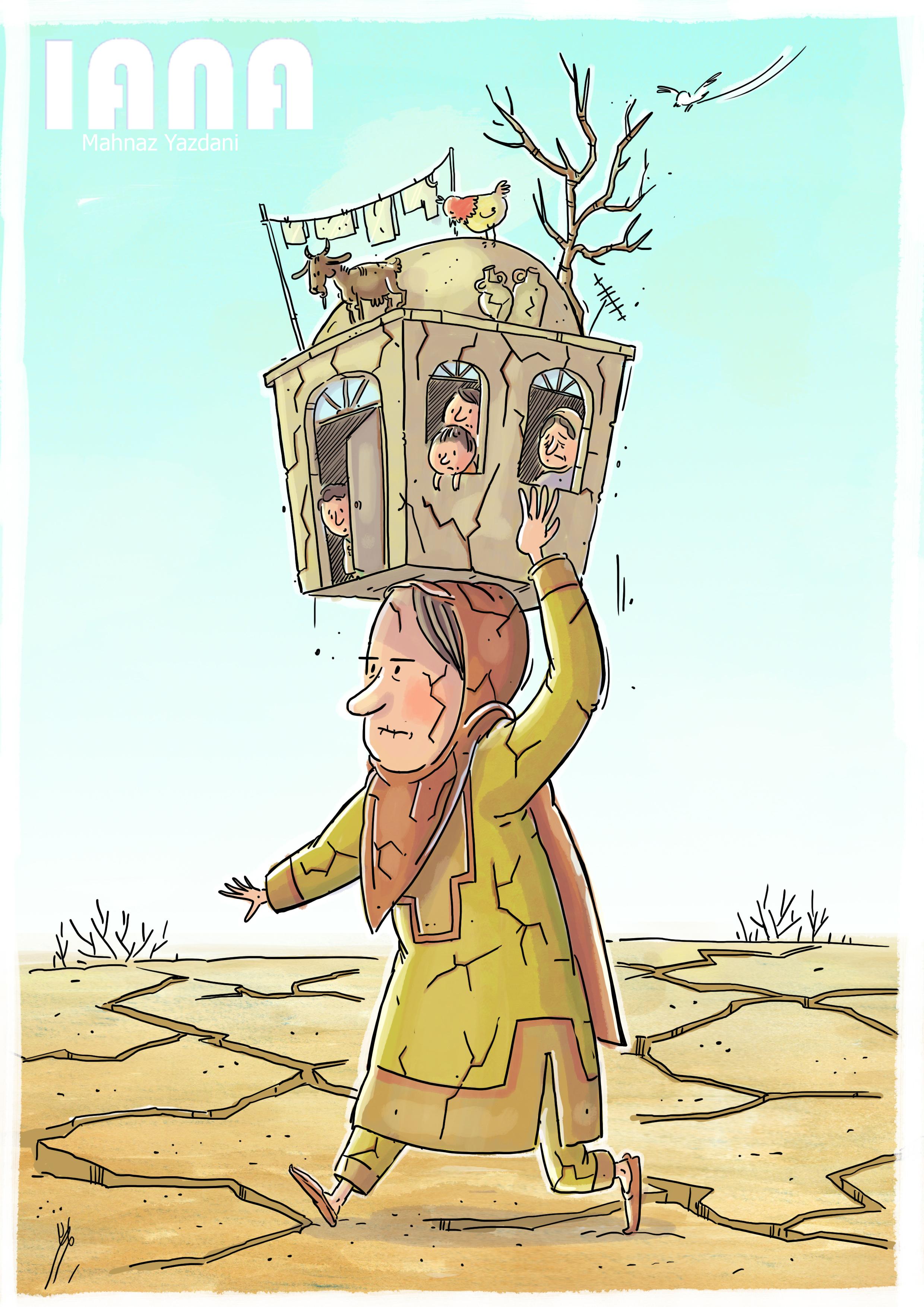 خشکسالی و مهاجرت