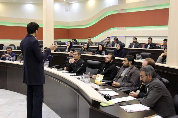 برگزاری دوره تخصصی آموزشی خبرنویسی رابطین روابط عمومی سازمان جهاد کشاورزی استان چهارمحال و بختیاری