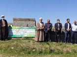 افتتاح طرح آبیاری تحت فشار (بارانی) به مساحت 7.2 هکتار در شهرستان بستان آباد