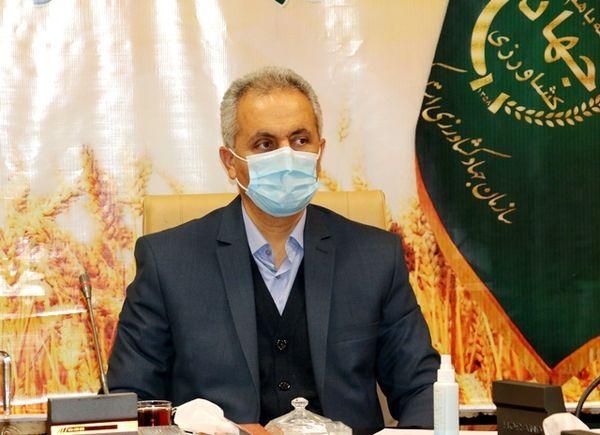 قرار داد اجرای جهش تولید دیمزارها در ۵۶ درصد اراضی کردستان منعقد شد
