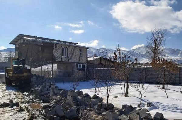 اجرای 269 فقره قلع و قمع ساخت و ساز غیرمجاز در اراضی کشاورزی شهرستان شبستر