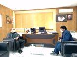 دیدار معاون آب و خاک وزارت جهاد کشاورزی با رئیس سازمان جهاد کشاورزی استان ایلام