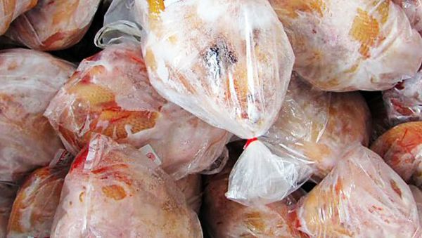 توزیع مرغ منجمد در خراسان شمالی