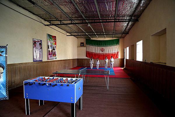 تجهیز 2300 خانه ورزش روستایی کشور