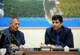 یکپارچه سازی اراضی زراعی و رفع تداخلات پلاکات ثبتی جز اولویتهای سازمان جهادکشاورزی آذربایجان شرقی است