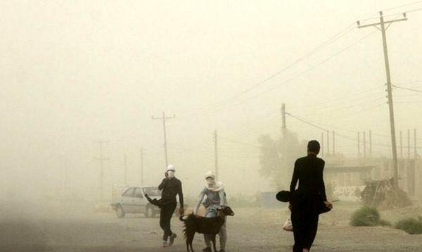 غلظت گردو غبار در سیستان و بلوچستان به 60 برابر حد مجاز رسید