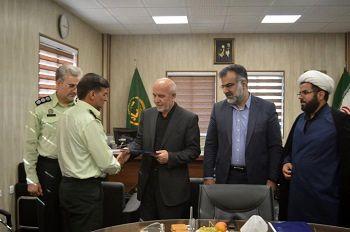 فرمانده یگان حفاظت اراضی کشاورزی استان فارس معرفی شد