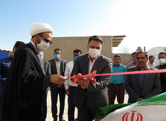 افتتاح 4 طرح در شهرستان  شهربابک در آخرین روز از هفته جهاد کشاورزی