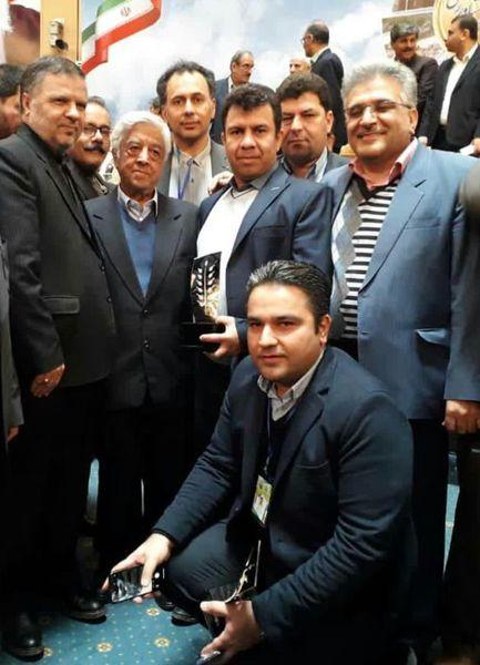 تجلیل از تولیدکنندگان و بهرهبرداران برتر کشوری بخش کشاورزی خراسان شمالی