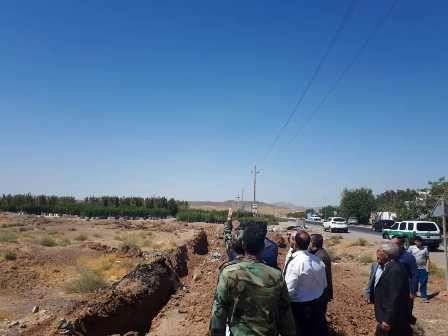 توقف عملیات عمرانی در اراضی ملی شهریار