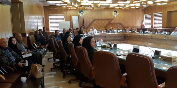 نشست علمی مرکز تحقیقات و آموزش کشاورزی اصفهان در سازمان جهاد کشاورزی این استان برگزار شد
