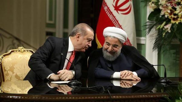 روسای جمهوری ایران و ترکیه با هم دیدار کردند