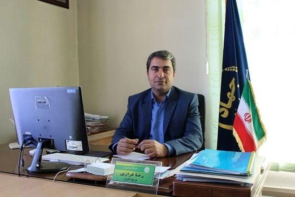 کشت کلزا در 90 هکتار از اراضی زراعی شهرستان فیروزکوه