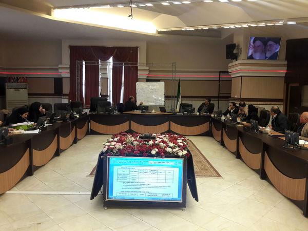 جلسه کارگروه استانی پروژه حسابداری و بهره وری آب برگزار شد