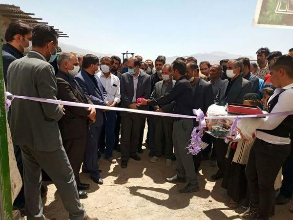 افتتاح طرحهای بخش کشاورزی شهرستان خانمیرزا
