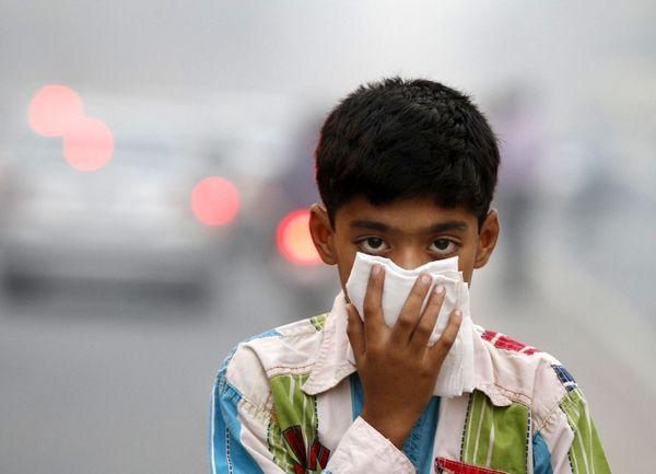 93 درصد کودک جهان هوای آلوده تنفس میکنند