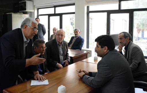 جلسه میز خدمت در سازمان جهادکشاورزی استان آذربایجان شرقی برگزار شد