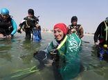 آموزش غواصی به زنان عربستانی