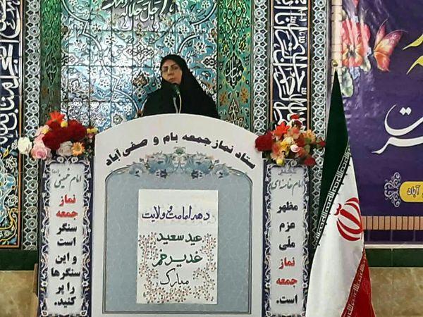 اقدامات جهاد کشاورزی اسفراین در نمازجمعه صفی آباد تشریح شد