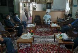 دیدار رییس سازمان و نماینده ولی فقیه در سازمان با امام جمعه شهرستان فردوس
