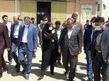 بازدید استاندار قزوین از اتحادیه شرکت های تعاونی روستایی شهرستان بویین زهرا