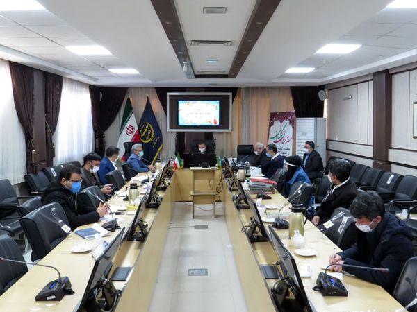 نهمین جلسه کمیسیون ماده 33 در سازمان جهاد کشاورزی خراسان شمالی برگزار شد