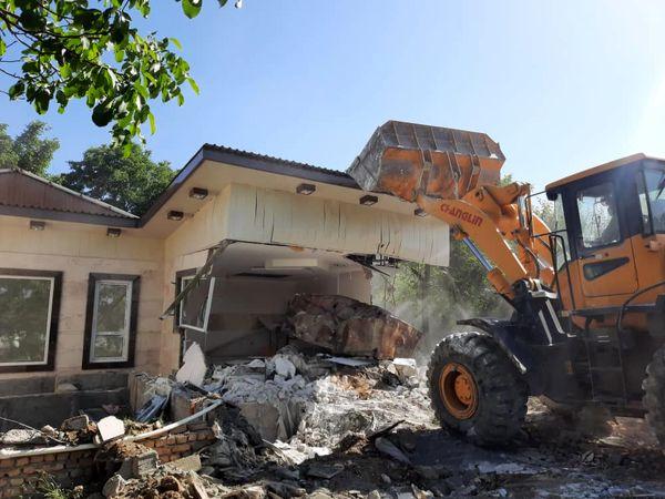 تشدید بر خورد با ساخت و سازهای غیر مجاز در اراضی کشاورزی شهرستان چهار باغ