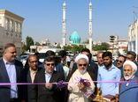افتتاح ساختمانهای سایت پشتیبانی و تاسیسات برقی و مکانیکی بندر صیادی بندرعباس