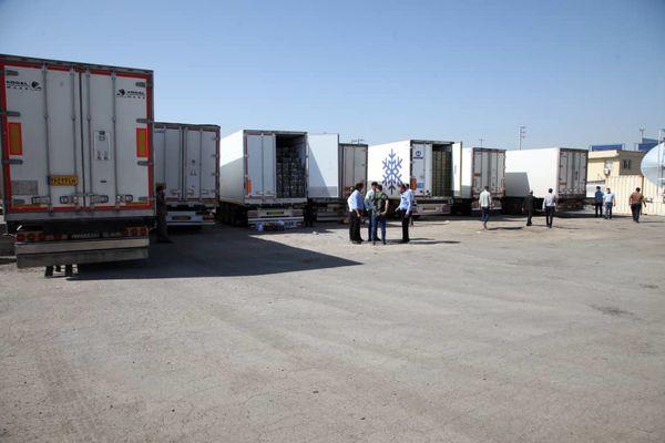 افزایش تردد کامیون ها در گمرکات به دلیل افزایش صادرات محصولات کشاورزی