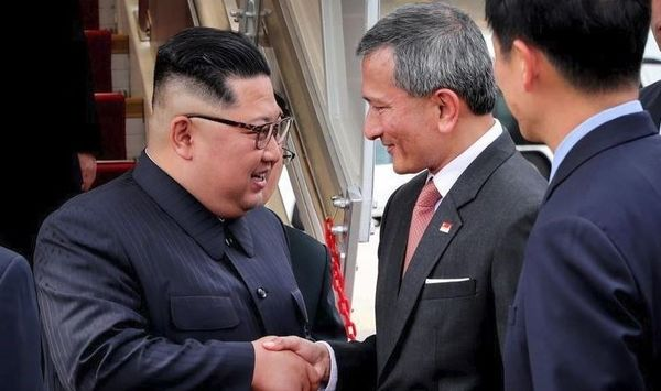 رهبر کره شمالی وارد سنگاپور شد