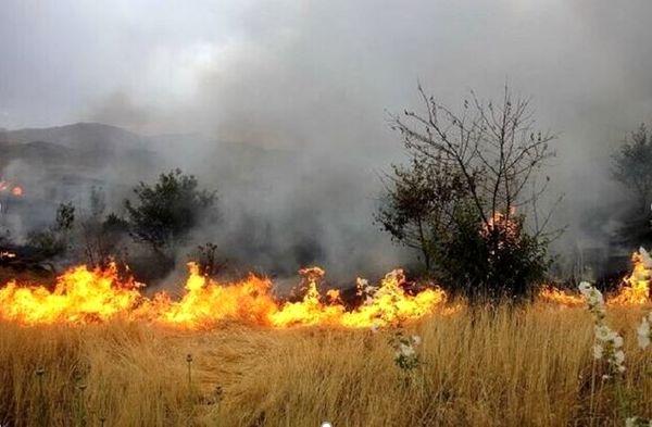 هشدار اداره کل منابع طبیعی خراسان شمالی نسبت به خطر آتشسوزی مراتع با گرم شدن هوا