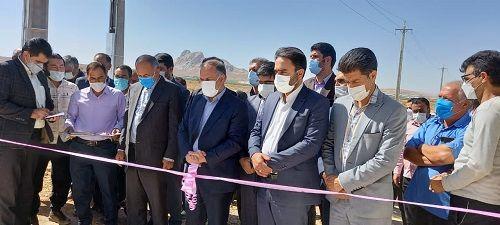 یک واحد دامپروری صنعتی درخرم بید افتتاح شد