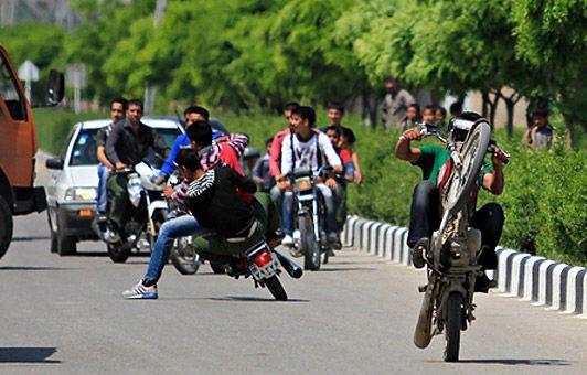 پلیس در کنترل موتورسیکلتها ناتوان است