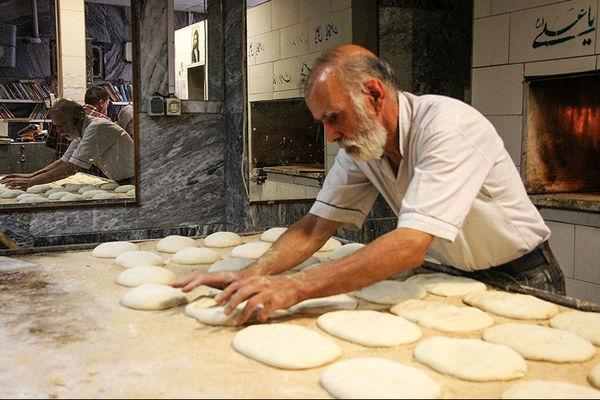 نیمی از نانواییهای کشور از خمیرمایه استفاده میکنند