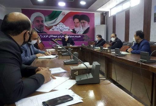 برگزاری جلسه رسیدگی به مشکلات شرکت ارسباران خاوری در فرمانداری شهرستان کلیبر