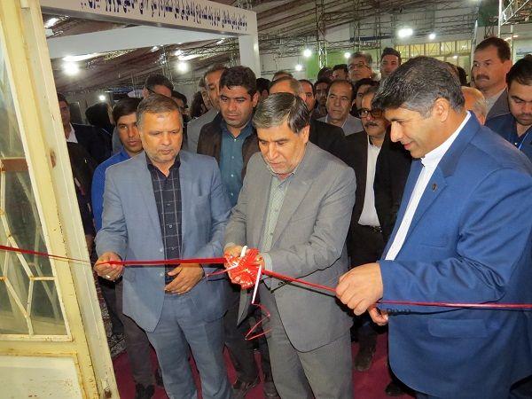 دهمین نمایشگاه سراسری کشاورزی و صنایع وابسته آن در خراسان شمالی گشایش یافت