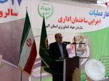 آغاز عملیات اجرایی ساختمان اداری سازمان جهاد کشاورزی استان البرز