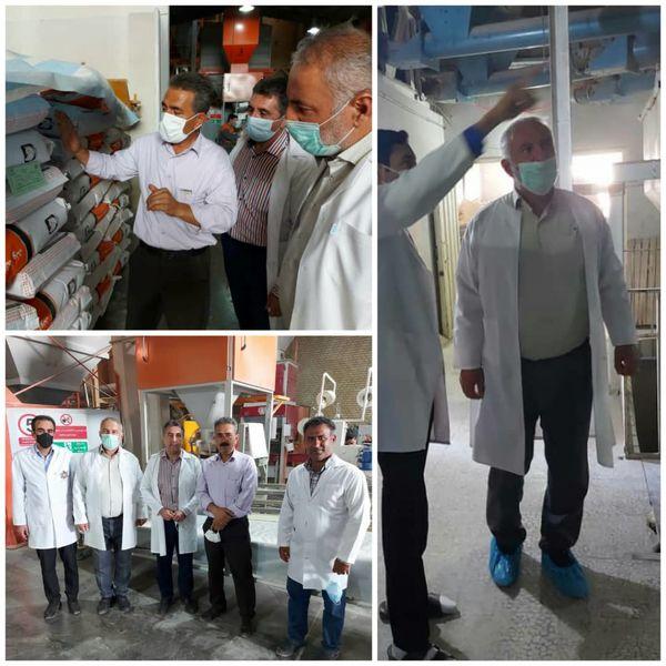 نظارت بر روند توزیع نهادههای دامی در شهرستان تاکستان