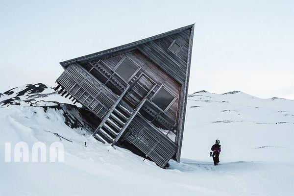 خسارت بهمن در کوهستانی در نروژ