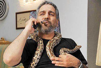 حیوان خانگی عجیب مهران مدیری! /عکس