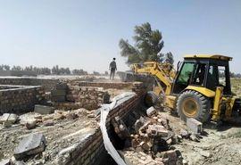 200مترمربع اراضی کشاورزی درشمال سیستان وبلوچستان آزادسازی شد