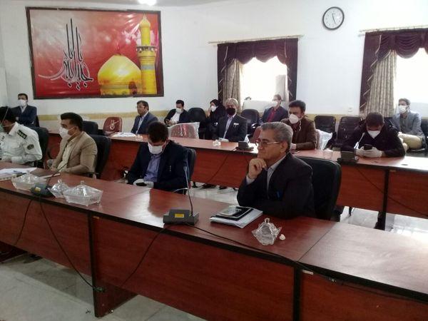 جلسه کمیته برداشت غلات و کلزا در شهرستان مهران برگزار شد