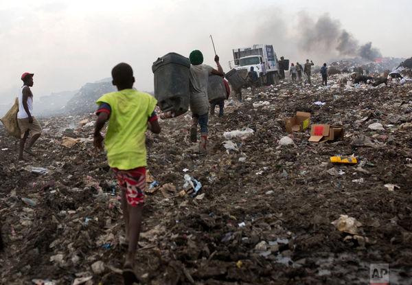 زندگی میان زبالهها در هائیتی
