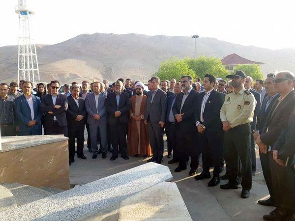 بازدید وزیر جهاد کشاورزی از کشتارگاه مرغ در شهرستان مرودشت