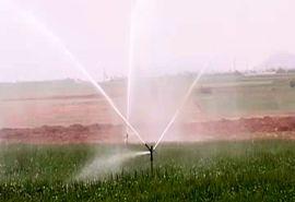 تجهیز اراضی کشاورزی فریدونشهر به سامانه آبیاری نوین