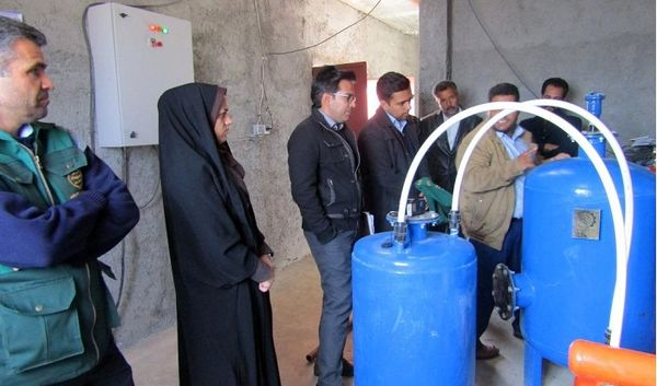 برگزاری کارگاه آموزشی به منظور آشنایی با سیستم های نوین آبیاری در سربیشه