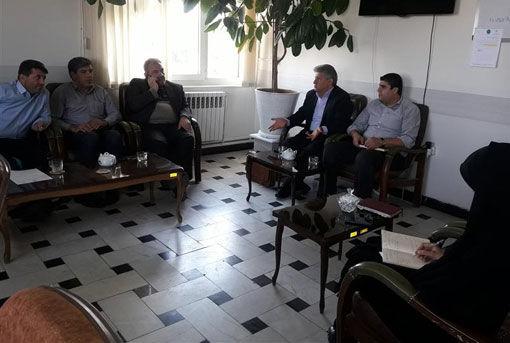 برگزاری جلسه اجرای طرح هویت دار کردن دام در شهرستان آذرشهر
