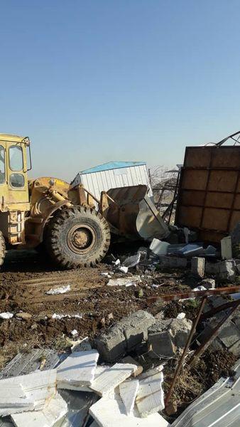 آزادسازی 25 هزار مترمربع از اراضی کشاورزی اسلامشهر