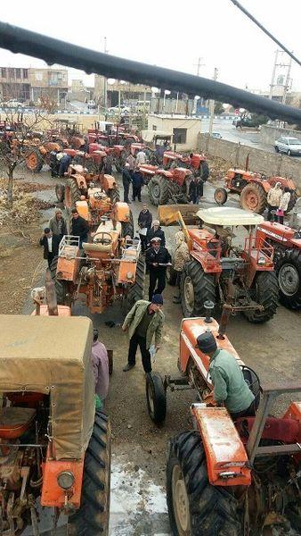 پلاکگذاری 12 هزار ماشینآلات کشاورزی در استان مرکزی