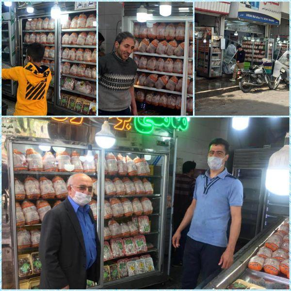 بیش از ۳۳۱ هزار قطعه مرغ در بازار قزوین توزیع شد